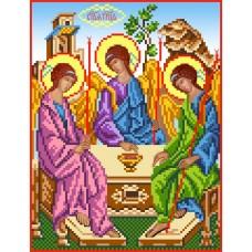 Святая Троица Рисунок на шелке 28/34 28х34 (18х24) Матренин Посад 3046ш