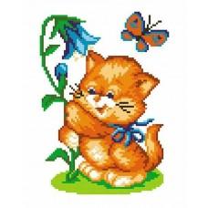 Кот с колокольчиком набор