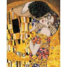 Набор Поцелуй. по мотивам картины Г.Климта 30х35 Риолис 1170