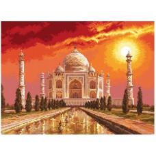 Тадж-Махал в Индии Рисунок на канве 37/49 37х49 (29х40) Матренин Посад 1795