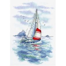 Набор Морская регата 25х18 МП-Студия А-009