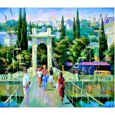 Курорт мозаика на подрамнике 40х50 40х50 Painting Diamond GF1559