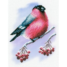 Румяная пташка Рисунок на канве 30х21см 20х14(30х21) МП-Студия СК-028