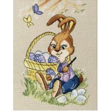 Набор Пасхальный кролик 20,7х13,8 Золотое руно Д-063