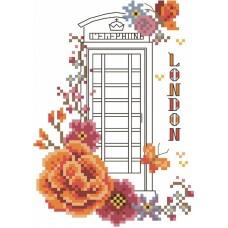 Лондон Набор для вышивания крестом 20х22 (10х14) Матренин Посад 6062/СК