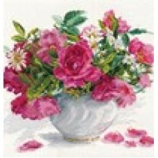 Набор Цветущий сад: Розы и ромашки 30х26 Алиса 45689