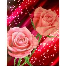 Цветы набор для частичной  выкладки стразами 37,5х47,5 Солнце H-4429