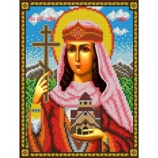 Святая Тамара Рисунок на ткани 18,5х24,5 Каролинка ТКБИ 4083