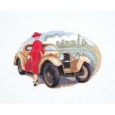 Ретро Набор для вышивания крестом 30х40 (18х27) Матренин Посад 6011/СК