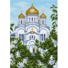 Преображенский собор Рисунок на канве 37/49 37х49 (27х39) Матренин Посад 922