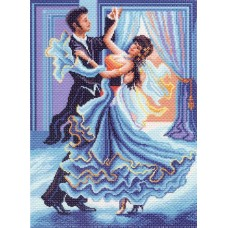 Танец Рисунок на канве 37/49 37х49 (28х38) Матренин Посад 1343