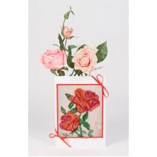 Розовое утро Набор для создания открытки 12х17 (11х13) Матренин Посад 8307