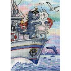 Набор Море любви 18х12 МП-Студия НВ-686