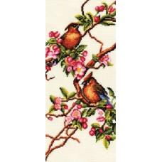 Набор Яблоня в цвету 16х36 Золотое руно РС-001