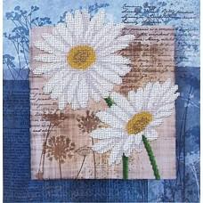 Набор Цветы любви 3 26,5х26,5 Магия канвы Б-041