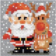 Санта-Клаус набор для выкладывания стразами