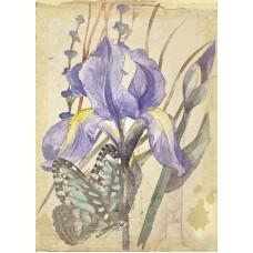 Сиреневый нектар Набор для создания открытки 22х25 (12х16,5) Матренин Посад 8359