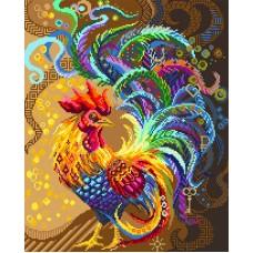 Птица желаний Набор для вышивания бисер-нитки 37х49 (30х37) Матренин Посад 0030/БН