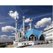 Мечеть Кул-Шариф живопись на холсте 40х50см