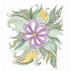 1588 Прекрасный цветок 30х34 Риолис 1588