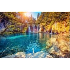 Танец водопадов Рисунок на шелке 37/49 37х49 (27х40) Матренин Посад 4220