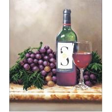 Набор Молодое вино 30,5х37 Магия канвы Б-092