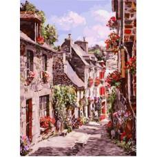 Франция. Дилан живопись на картоне 30*40см 30х40 Белоснежка 3254-CS