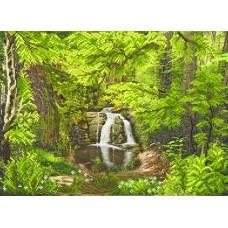 Шепот леса Рисунок на шелке 37/49 37х49 (28х38) Матренин Посад 4148