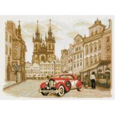 Прага Рисунок на канве 37/49 37х49 (28х38) Матренин Посад 1757