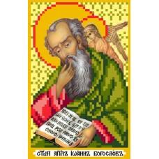 Святой Иоанн Богослов Рисунок на шелке 22/25 22х25 (9х14) Матренин Посад 3022