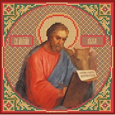 Святой Лука Набор для вышивания бисером 28х34 (18х18) Матренин Посад 3066/БГ