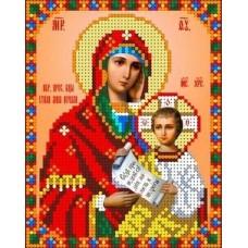 Набор Богородица Утоли моя печали бисер 12,5х16 Каролинка КБИН(Ч) 5003