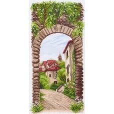 Уютное местечко Рисунок на канве 24/47 24х47 (20х40) Матренин Посад 1498