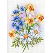 Музыка цветов Рисунок на канве 30х40см 29х22(30х40) МП-Студия СК-090