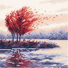 Красная осень Набор для выкладывания стразами