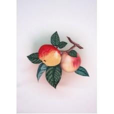 Яблочко наливное Набор для вышивки гладью 28х34 (17х17) Матренин Посад 5509/ГЛ
