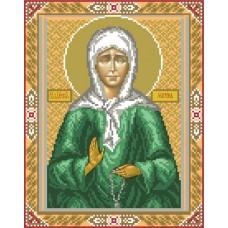 Святая Матрона Московская Рисунок на шелке 28/34 28х34 (18х24) Матренин Посад 3001ш