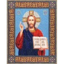 Набор Икона Господь Вседержитель 34,5х27,5 Золотое руно РТ-030