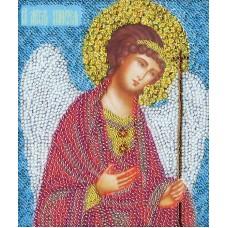 Набор Икона Ангел Хранитель 15,4х12,9 Золотое руно РТ-034