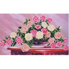 Набор Садовые розы 50х30 Магия канвы Б-296