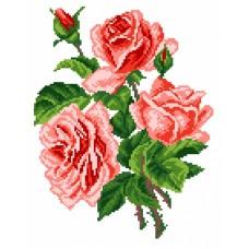 Розы Набор для вышивания крестом 28х37 (17х22) Матренин Посад 0560/Н