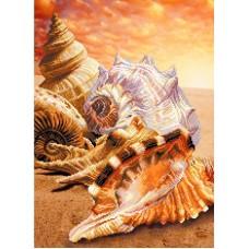 Морские сувениры Канва с нанесенным фоном 37/49 37х49 (29х40) Матренин Посад 1773