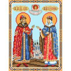 Святые Петр и Февронья Рисунок на шелке 28/34 28х34 (18х24) Матренин Посад 3047ш