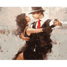 Танец страсти живопись на холсте 40х50см