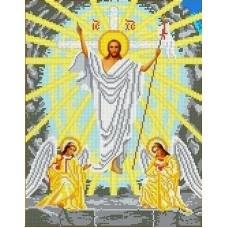 Воскресение Христово Рисунок на ткани 28х36 Каролинка ТКБИ 3064