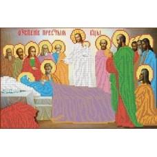 Успение Пресвятой Богородицы Рисунок на ткани 28,1х35,7 Каролинка ТКБИ 3015