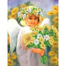 Набор Солнечный ангел бисер 12,7х16,7 Каролинка КБАН 5008
