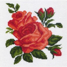 Розы Рисунок на канве 28/37 28х37 (17х18) Матренин Посад 0437-1