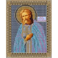 Святой Серафим Саровский Набор для вышивания бисером 28х34 (22х28) Матренин Посад 3005/БГ