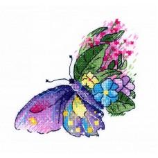 Набор Цветочный полет 10х10 МП-Студия В-539
